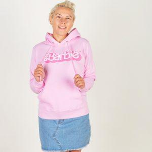 Women's Pink Barbie 80's Logo Hoodie