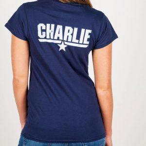 Women's Top Gun Charlie Fitted T-Shirt