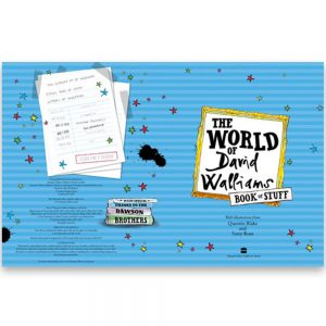 World Of David Walliams Activity Book Gift Set By Moonpig – Delivery Available
