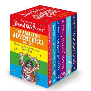 World Of David Walliams Book Gift Set By Moonpig – Delivery Available