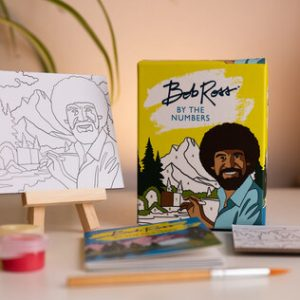 Bob Ross By The Numbers Mini Kit