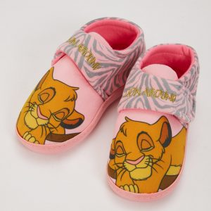 Disney The Lion King Pink Slippers – 4-5 Infant