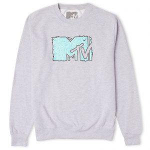 MTV Logo Sweatshirt – Grey – S – Grey