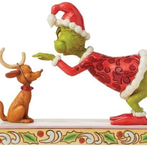 The Grinch Grinch Patting Max Collection Figures Multicolor