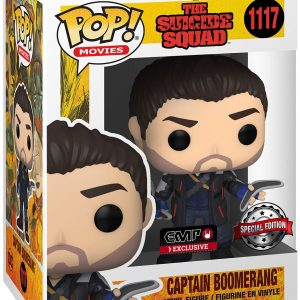 The Suicide Squad Captain Boomerang Vinyl Figur 1117 Funko Pop! Multicolor
