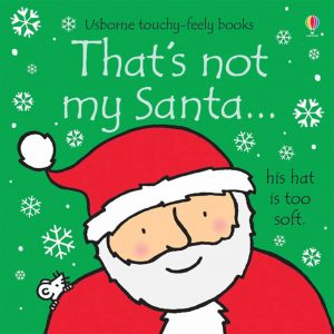 Usborne, That's Not My Santa Touchy-Feely Book