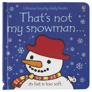 Usborne, That's Not My Snowman Touchy-Feely Book