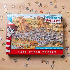 Where's Wally Jigsaw Puzzles (Aztec)